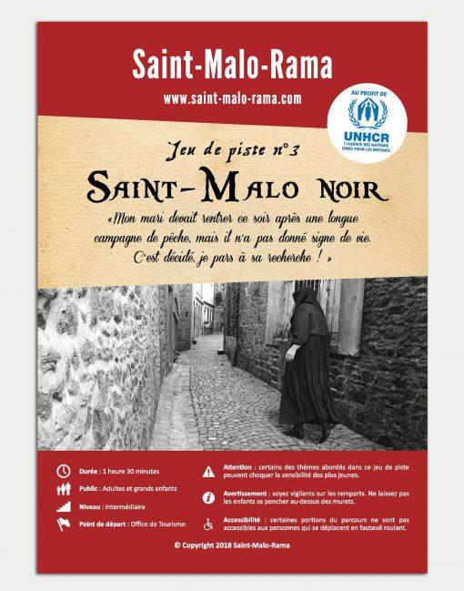 Jeu de piste 3 - Saint-Malo noir