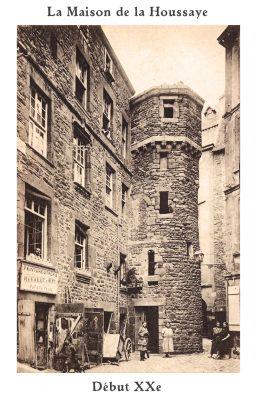 La Maison de la Houssaye au début du XXe siècle
