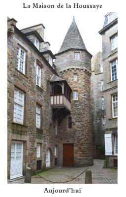 La Maison de la Houssaye aujourd'hui