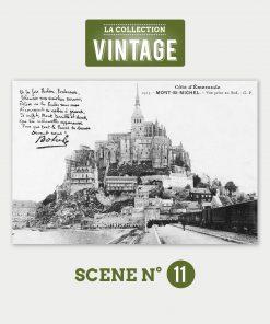 Le Mont-Saint-Michel, l'arrivée du train